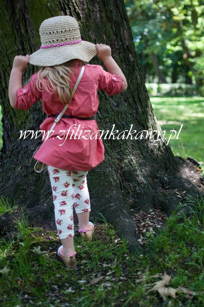 kapelusz dziewczynka
