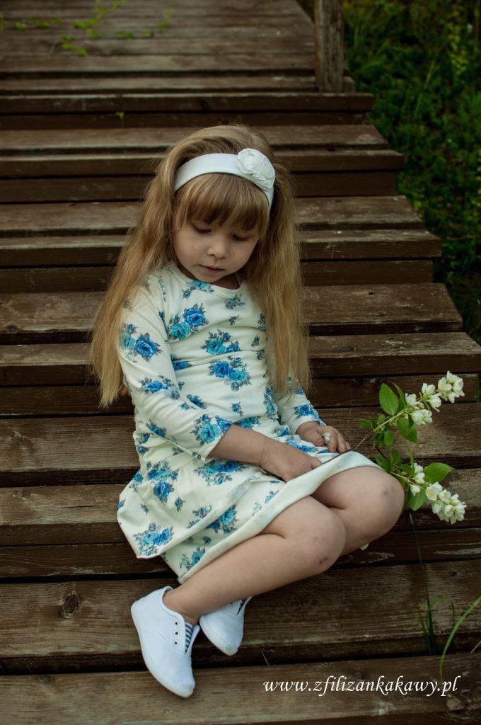 moda letnia dziewczynka