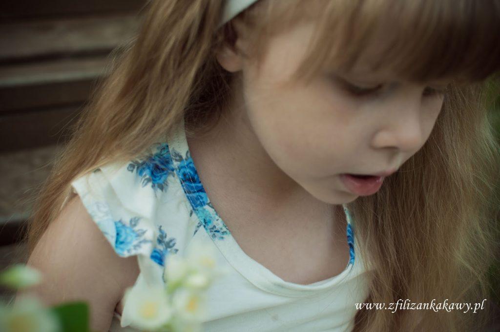 portret dziewczynka