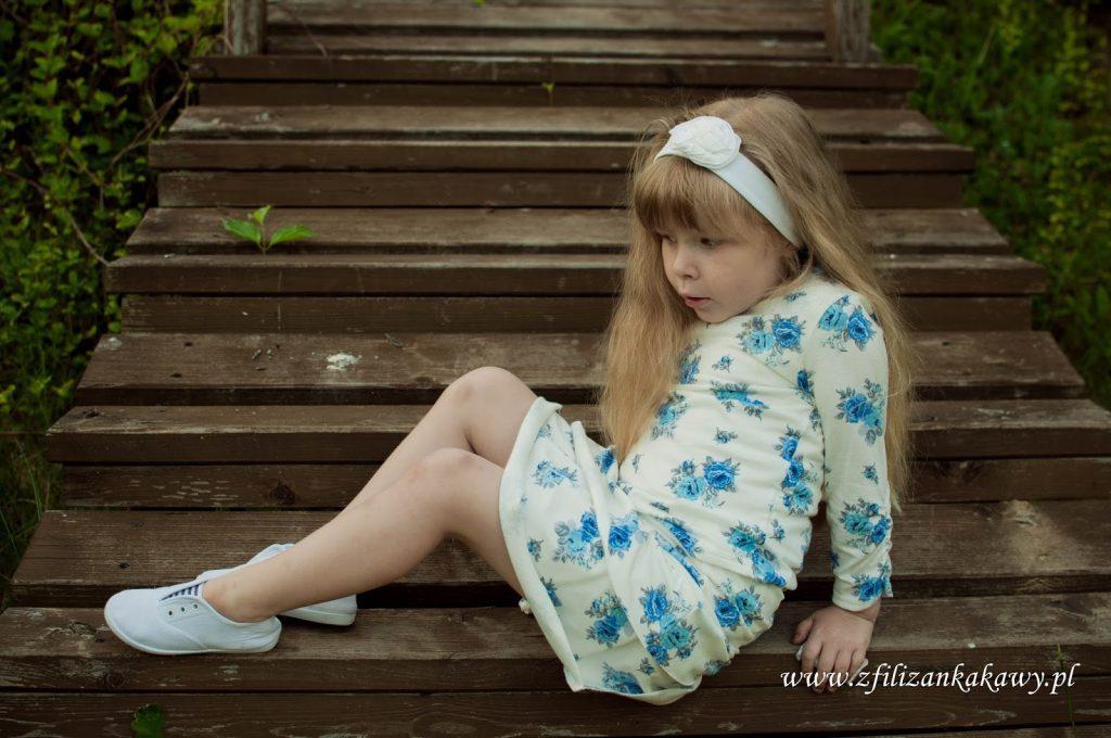 dresowa spódnica dziewczynka