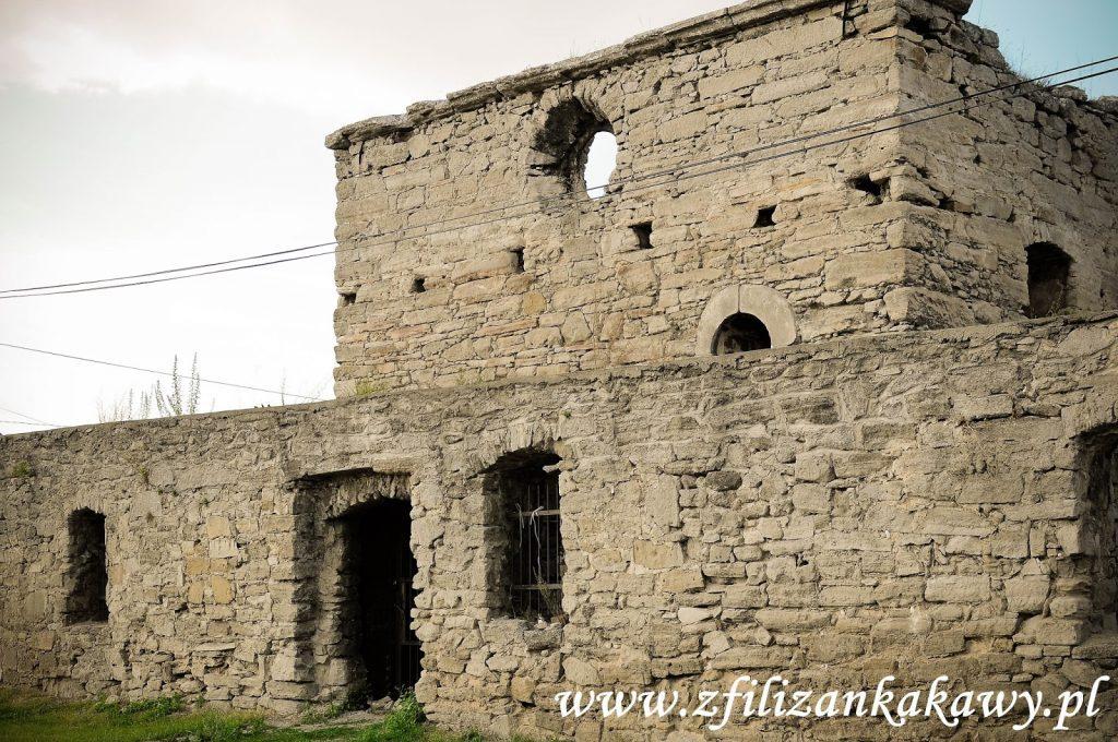 Szydłów ruiny kościoła