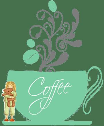 Z filiżanką kawy