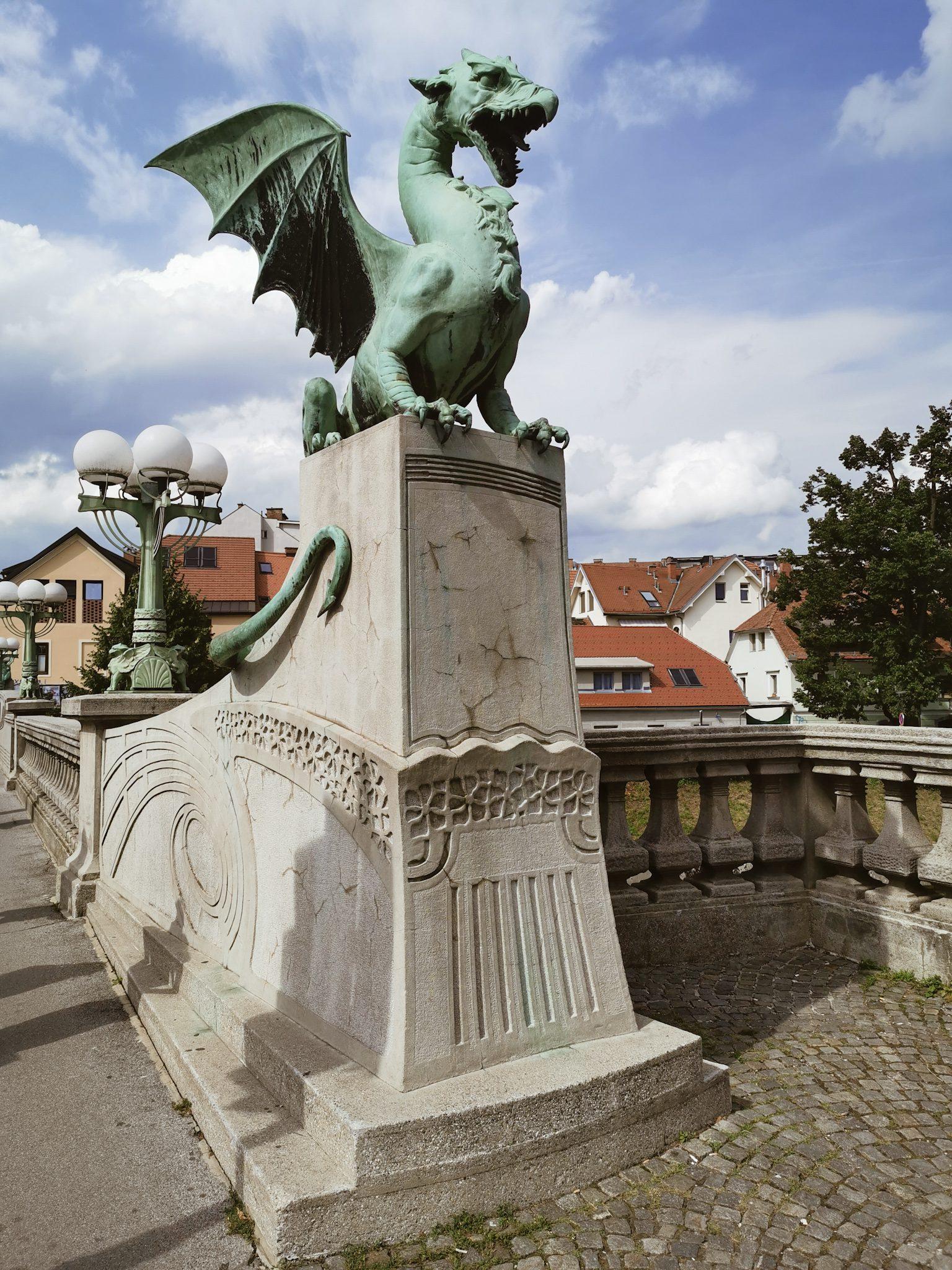 Smoczy Most Ljubljana