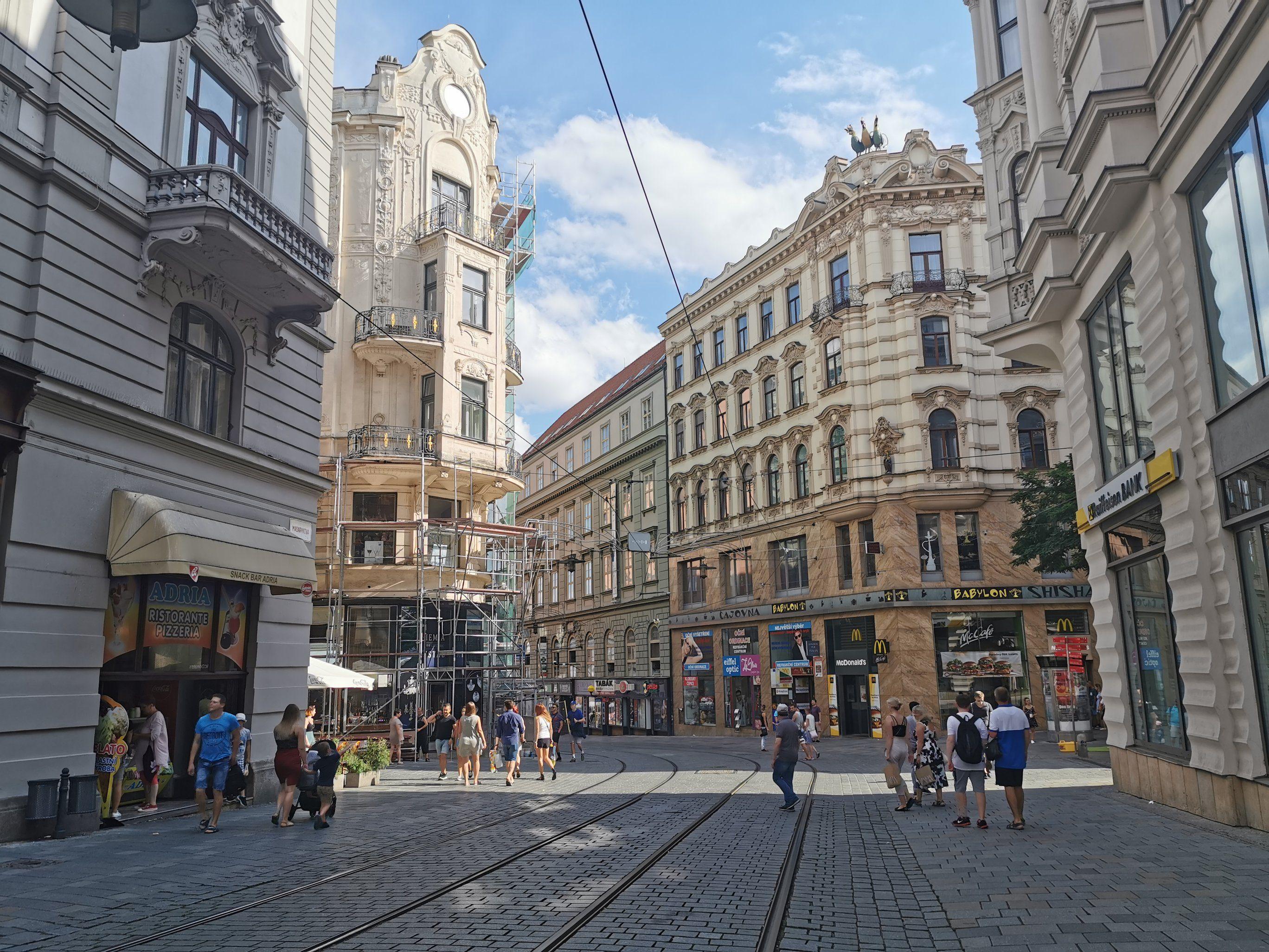 Brno - ulica Masarykova
