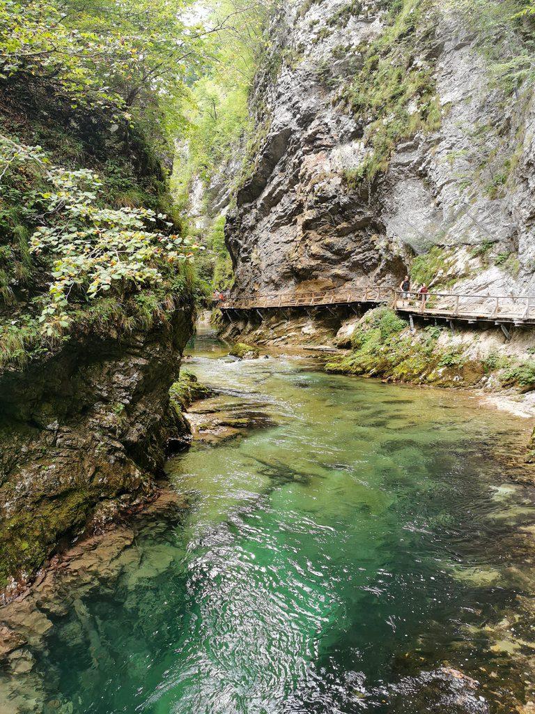 Vintgar Słowenia