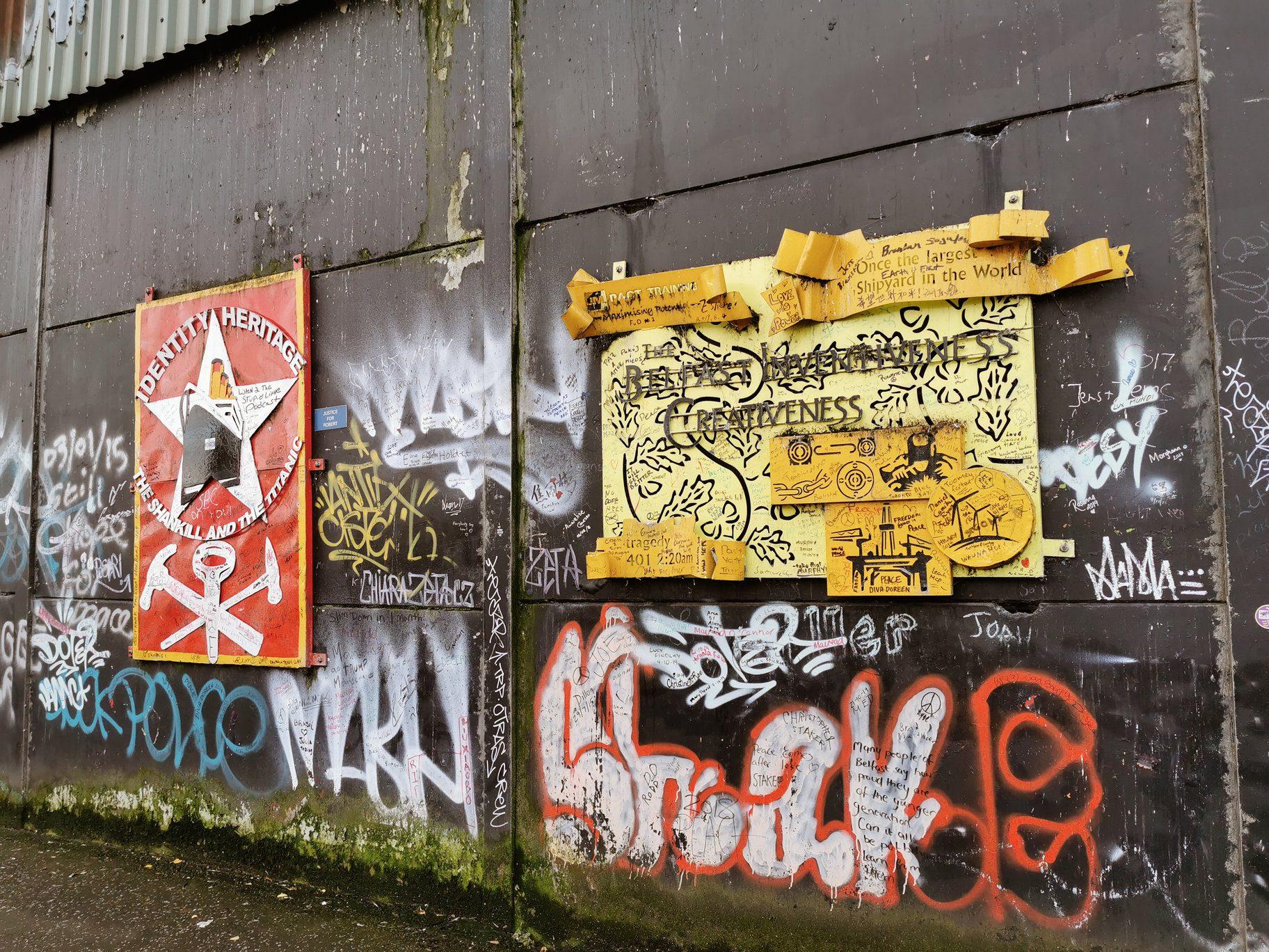 Peace Wall - Shankill Road