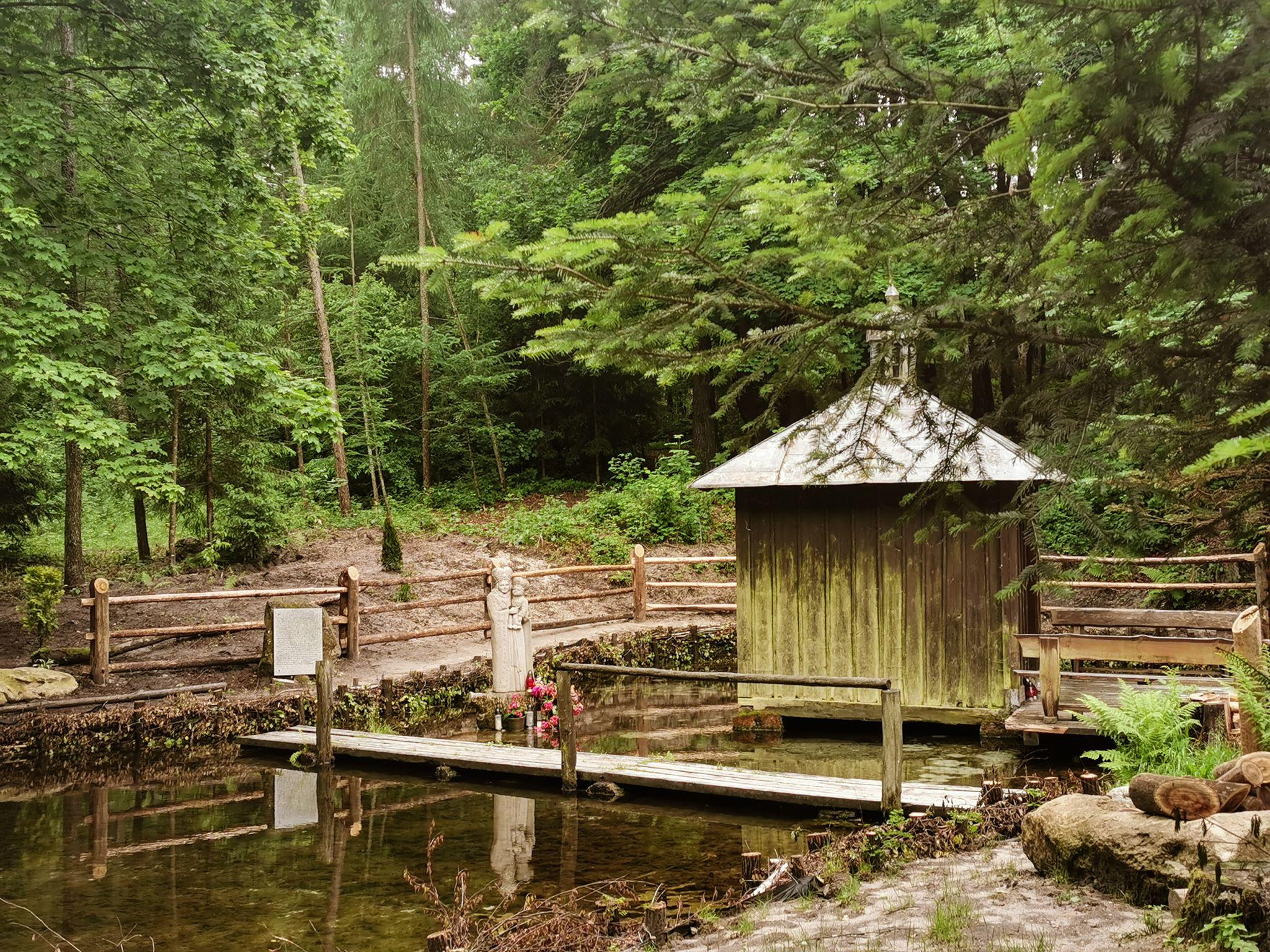 Kapliczka na wodzie Siedliska