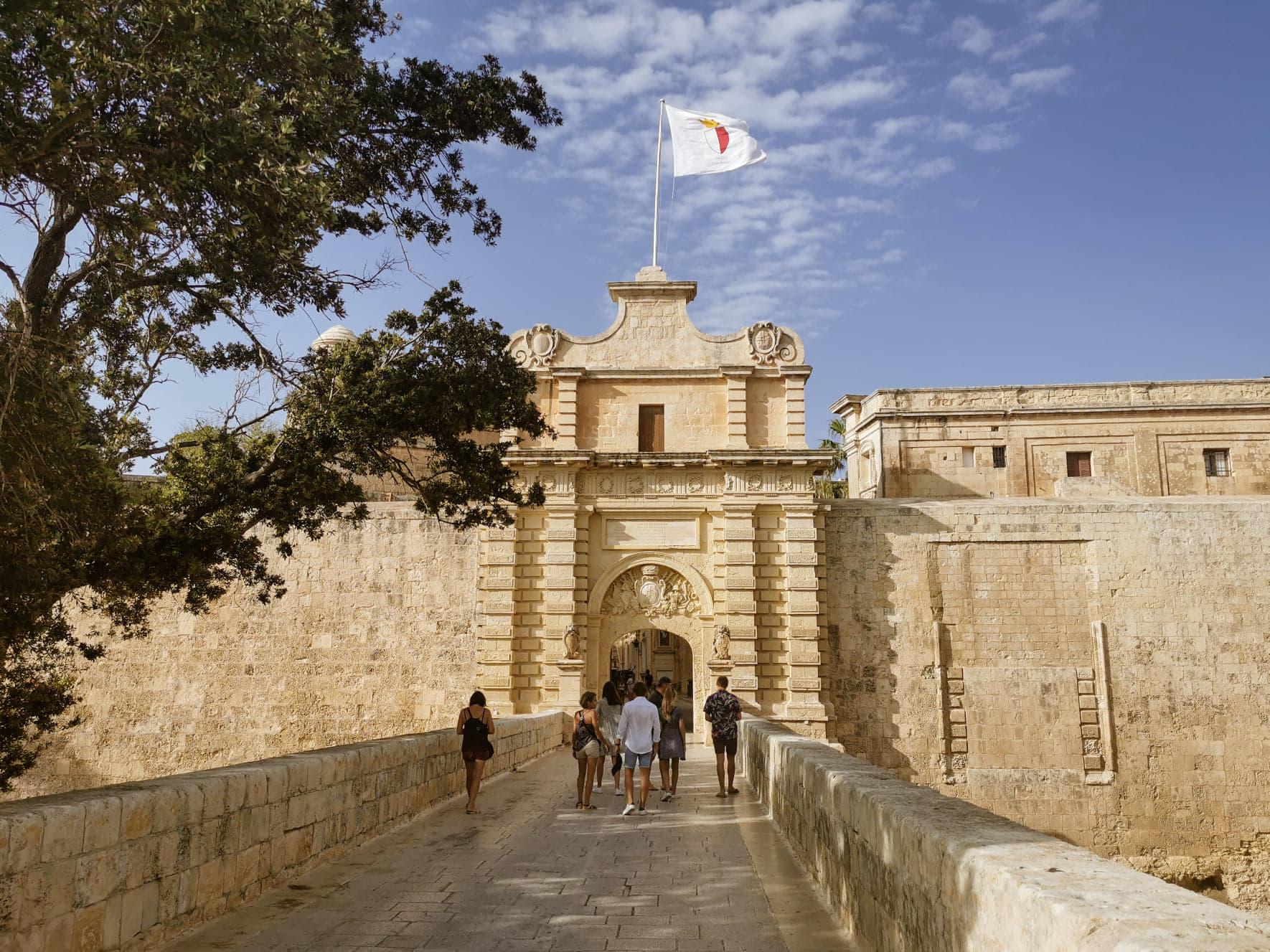 Mdina co zobaczyć Malta