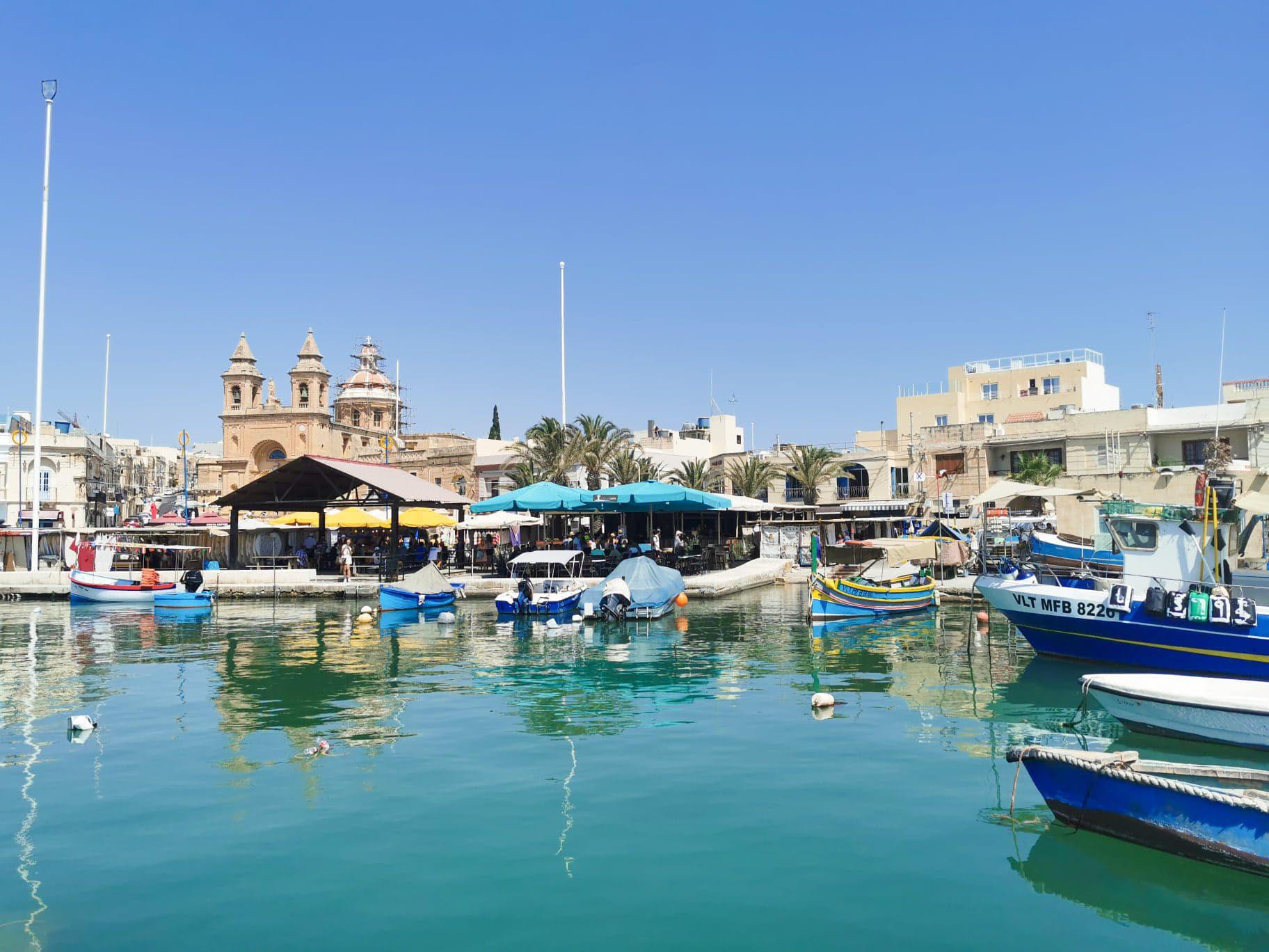 marsaxlokk instagrammable Malta