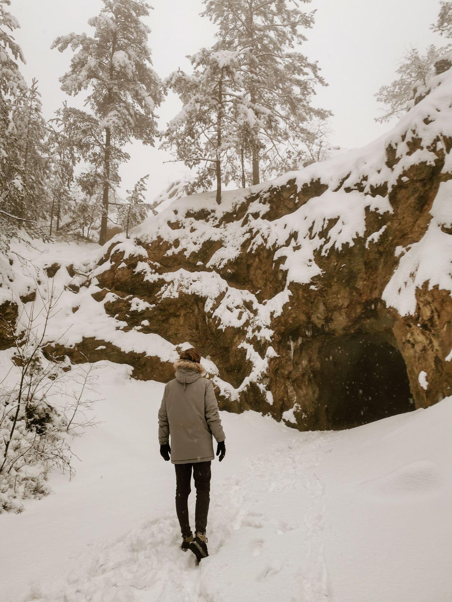 Rudawski Park Krajobrazowy zimą
