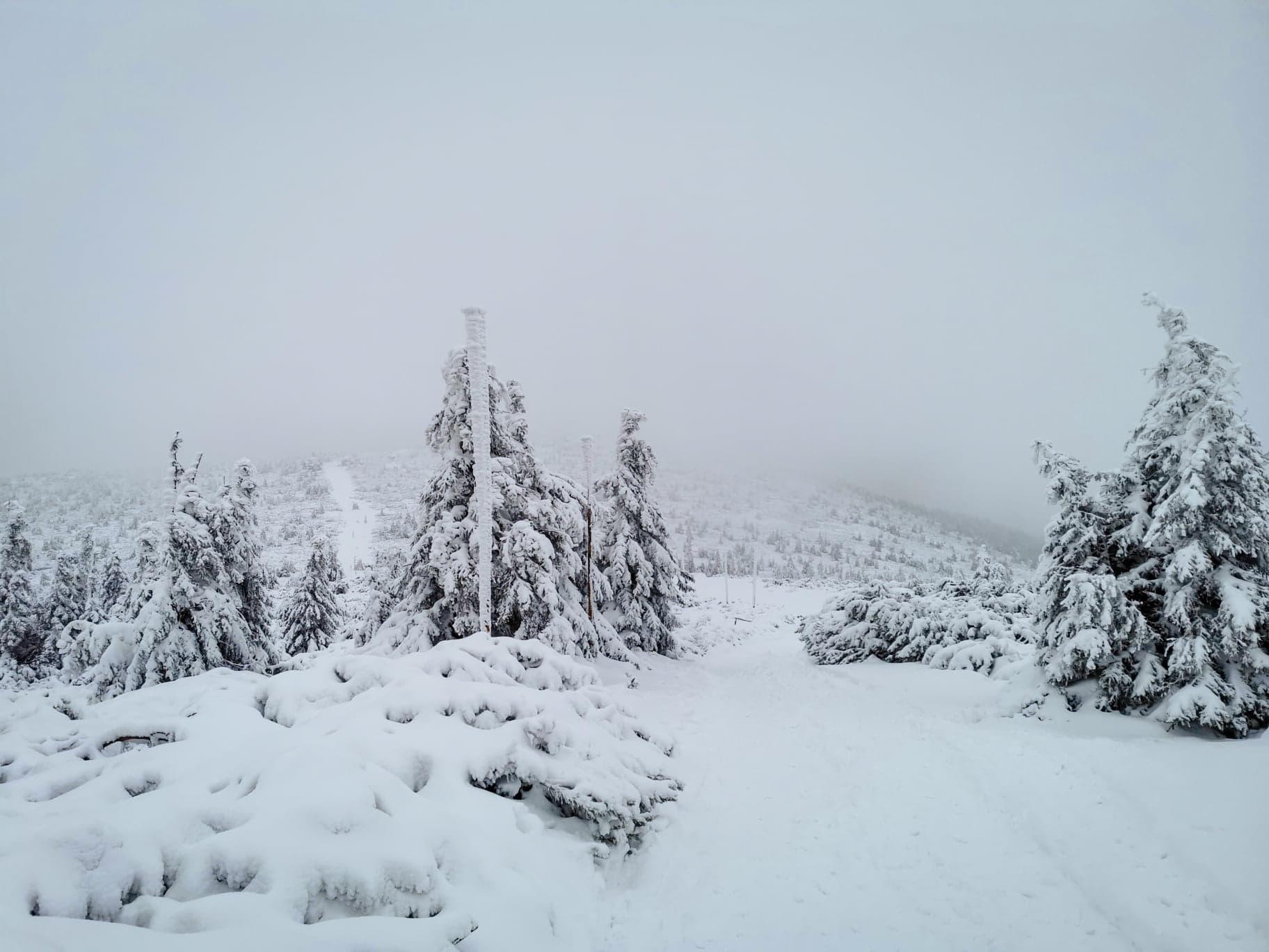 Śnieżne Kotły zimą